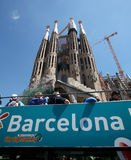 barcelona Sagrada familia Fotografia Royalty Free