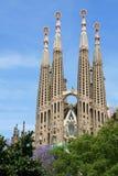 barcelona Sagrada familia Obrazy Stock