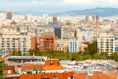 Barcelona Sagrada Familia Royalty-vrije Stock Afbeelding