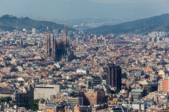Barcelona Sagrada Familia Royalty Free Stock Photo