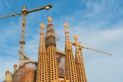 Barcelona Sagrada Familia Royalty Free Stock Images