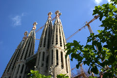 Barcelona- Sagrada Familiar Royalty Free Stock Photography