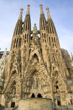 Barcelona - Sagrada la Familia Royalty Free Stock Photos