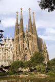 Barcelona - Sagrada la Familia - Gaudi Stock Photo
