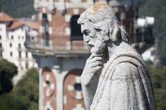 Barcelona - santo sobre la ciudad Imagenes de archivo