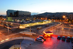 Barcelona Sants railway station, Spain Royalty Free Stock Photography