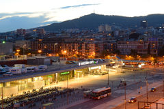 Barcelona Sants railway station, Spain Stock Photography