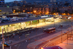 Barcelona Sants railway station, Spain Stock Photo