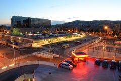 Barcelona Sants railway station, Spain Royalty Free Stock Photography