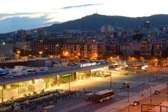 Barcelona Sants railway station, Spain Stock Photography
