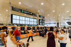 Barcelona Sants Station Royalty Free Stock Image