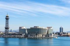 Barcelona schronienia widok zdjęcie royalty free