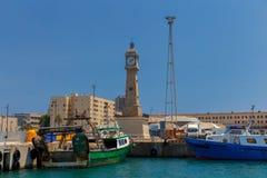 Barcelona. Sea port. Stock Photo
