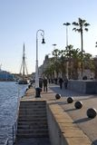Barcelona seafront. Catalonia. Spain Royalty Free Stock Image