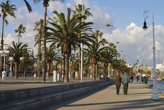 Barcelona seafront. Catalonia. Spain Stock Photography