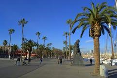 Barcelona seaside Stock Images