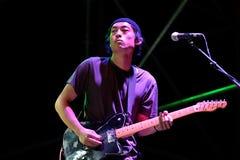 Da Bang band in concert at BAM Festival Royalty Free Stock Photos