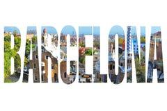 Barcelona sign Stock Photo