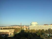 Barcelona sikt Arkivbild