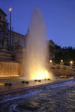 Barcelona. Singing fountains of Montjuic Royalty Free Stock Photography