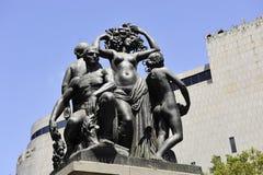 Barcelona-Skulptur Stockbilder