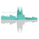 Barcelona skyline Royalty Free Stock Photography