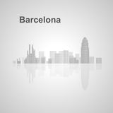 Barcelona skyline  for your design Stock Image