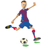 Barcelona soccer player Stock Photos