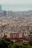 Barcelona, Southern Spain. A hot city in summer in balmy Spain Stock Photos