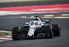 FORMULA ONE TEST DAYS 2018 - WILLIAMS F1 royalty free stock photos