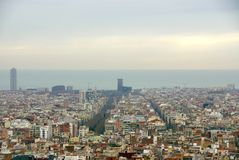 Barcelona in Spain Stock Photos