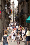 Barcelona, Spain. Royalty Free Stock Photo