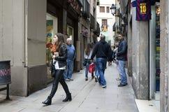 barcelona spain Royaltyfri Foto