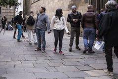 barcelona spain Fotografering för Bildbyråer