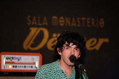 Denver band performs at Monasterio Stock Photography