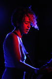 The Thermals band performs at BeCool Royalty Free Stock Photos