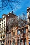 Barcelona, Spain - April 21, 2016: Antoni Tapies foundation in Aragon Stock Photography