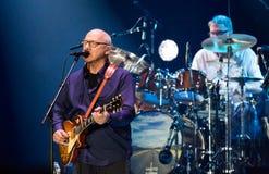 Mark Knopfler giving concert at Palau Sant Jordi