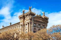 Barcelona, Spain - April 17, 2016: Maritime Sea Museum of Barcelona Stock Images