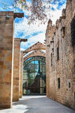 Barcelona, Spain - April 17, 2016: Maritime Sea Museum Stock Photography