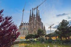 BARCELONA, SPAIN - APRIL 28:  Sagrada Familia on April 28, 2016 in Barcelona, Spain Stock Photo