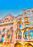 In Barcelona in Spain Royalty Free Stock Photo