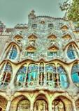 In Barcelona in Spain Stock Photos