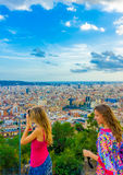 In Barcelona in Spain Royalty Free Stock Photography