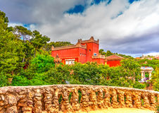 In Barcelona in Spain Royalty Free Stock Images