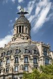Barcelona & x28; Spain& x29;: byggnad av Passeig de Gracia Fotografering för Bildbyråer