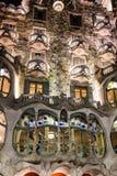 Barcelona, Spain. Casa Batllo of Antoni Gaudi. Fragment of famou Stock Images