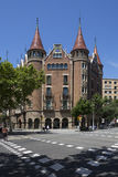 Barcelona - Spain - Casa Terrades les Punxes Royalty Free Stock Photography