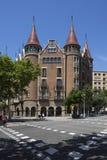Barcelona - Spain - Casa Terrades les Punxes royalty free stock photography