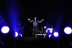 Amaral performs at Palau Sant Jordi Stock Photo